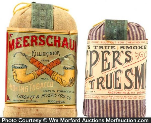 Vintage Tobacco Pouches