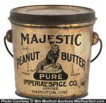 Majestic Peanut Butter Pail