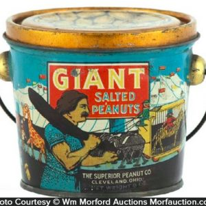 Giant Salted Peanuts Pail