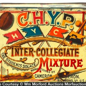 C.H.Y.P. Inter-Collegiate Tobacco Tin