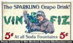 Vin-Fiz Grape Postcard