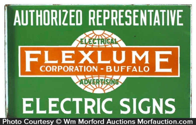 Flexlume Electric Signs Sign