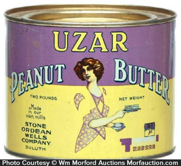 Uzar Peanut Butter Tin