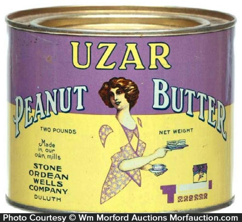 Uzar Peanut Butter Tin