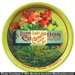 Carnation Chewing Gum Tray