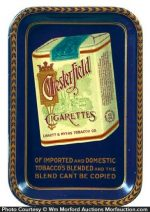 Chesterfield Cigarettes Tip Tray