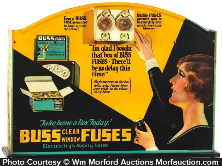 Buss Fuses Display