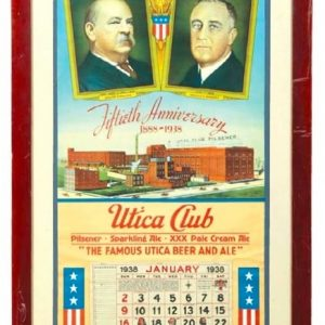 West End Utica Club Beer Calendar