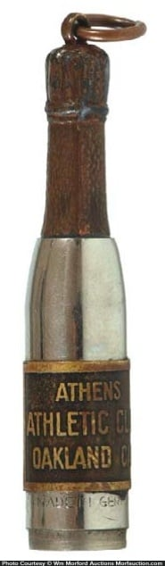Champagne Bottle Cigar Punch