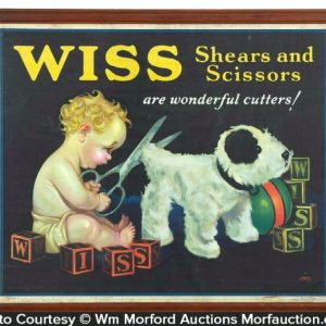 Wiss Scissors Sign