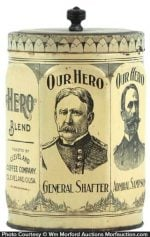 Our Hero Coffee Tin
