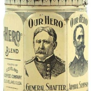 Our Hero Coffee Tin