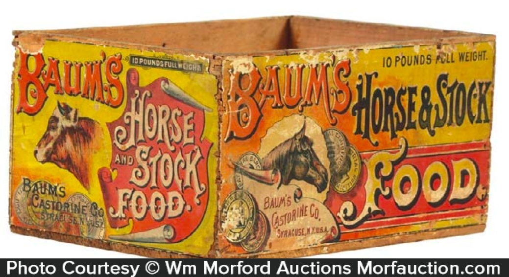 Baum's Horse and Stock Food Box