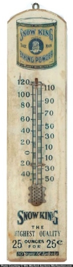 Snow King Baking Powder Thermometer