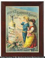 Hoyt's German Cologne Sign