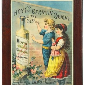 Hoyt's German Cologne Sign