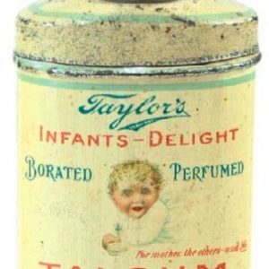 Taylor's Talcum Powder Sample Tin
