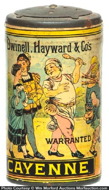 Dwinell, Hayward Co. Spice Tin