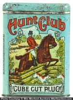 Hunt Club Tobacco Tin