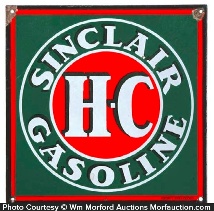Sinclair Hc Gasoline Sign