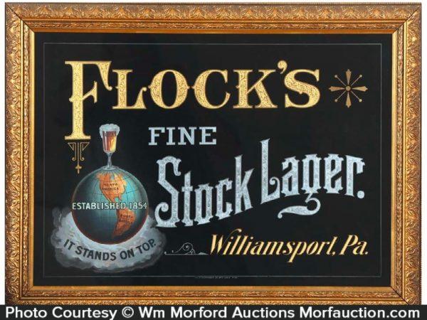 Flock's Stock Lager Sign