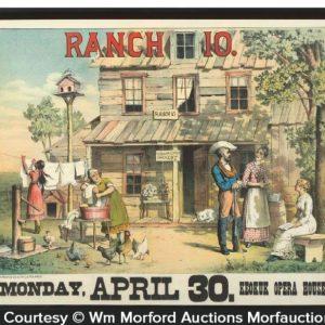 Ranch 10 Play Sign