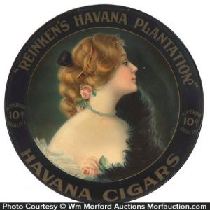 Reinken's Havana Cigars Sign