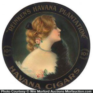 Reinken's Havana Cigars Sign
