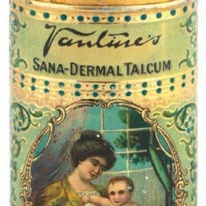 Vantine's Sana-Dermal Talc Tin