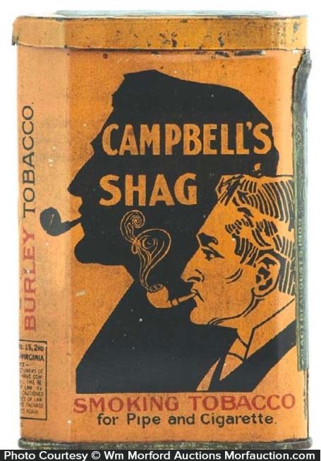 Campbell's Shag Tobacco Tin