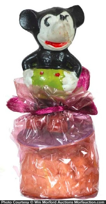 Mickey Mouse Candy Container