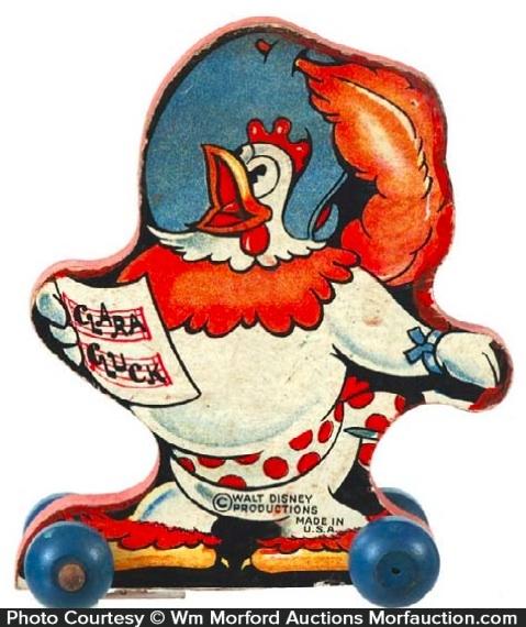 Clara Cluck Toy