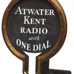 Atwater Kent Radio Sign