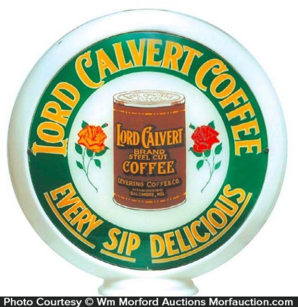 Lord Calvert Coffee Globe