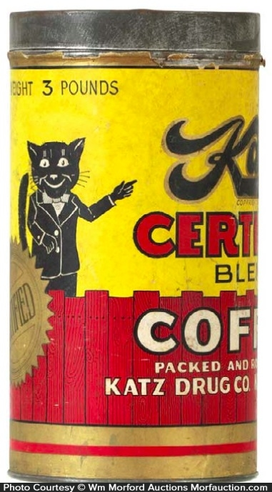 Katz Coffee Can
