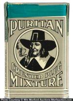 Puritan Mixture Tobacco Tin