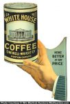 White House Coffee Flange Sign