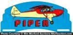 Piper Cub Airplanes License Attachment
