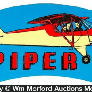 Piper Cub Airplanes License Attachment