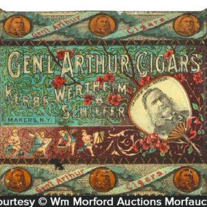 General Arthur Cigars Tip Tray