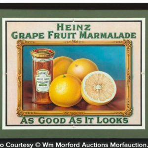 Heinz Grape Marmalade Sign