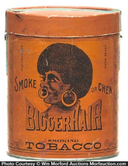 Bigger Hair Tobacco Tin