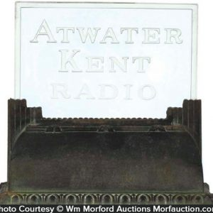 Atwater Kent Radio Sign