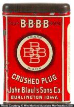 Bbbb Tobacco Tin