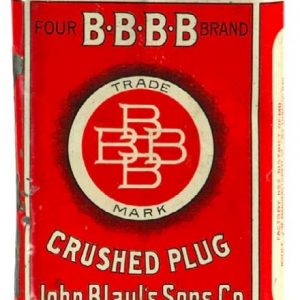 Bbbb Tobacco Tin