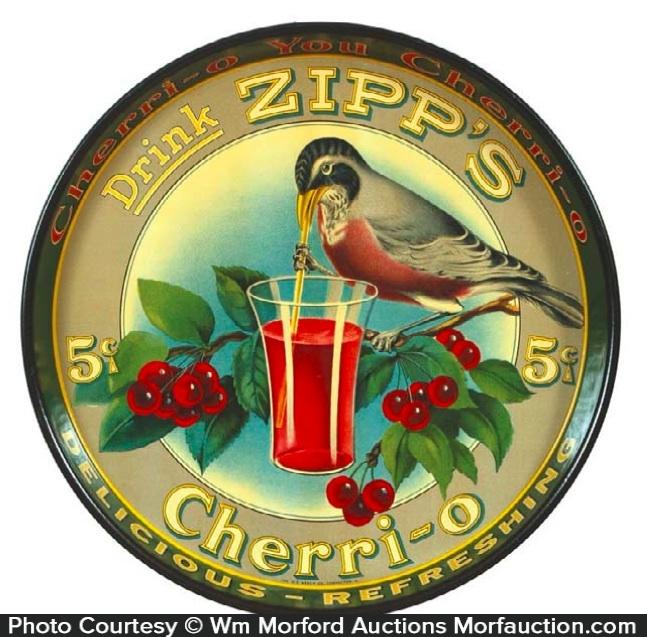 Zipp's Cherri-O Soda Tray