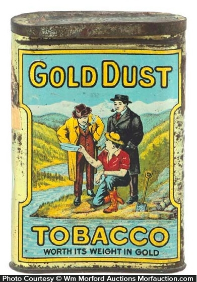 Gold Dust Tobacco Tin