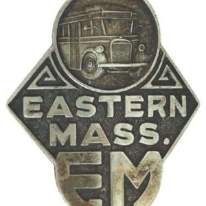 Eastern Mass. Bus Badge