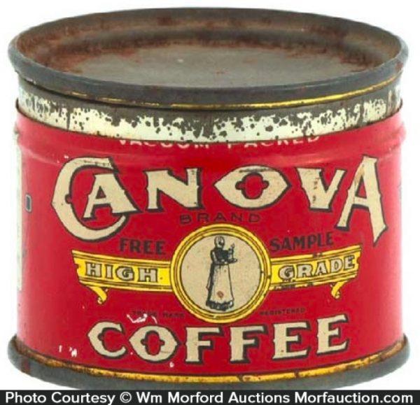 Canova Coffee Can Sample
