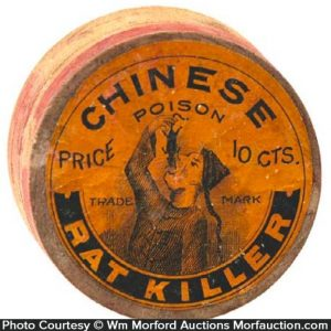 Chinese Poison Rat Killer Box